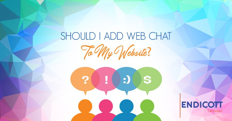 Should I add web chat to my website?