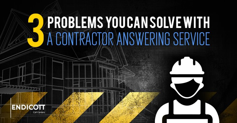 3 Problems You Can Solve With a Contractor Answering Service