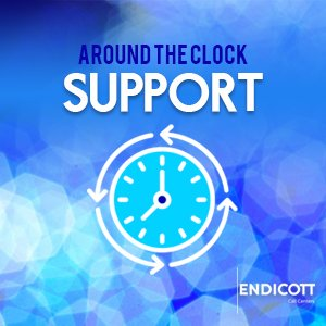 Around-the-Clock Support