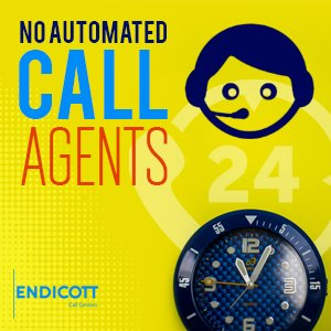 No Automated Call Agents